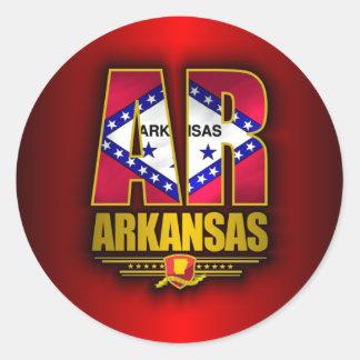 Arkansas (AR) Classic Round Sticker