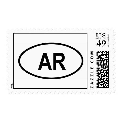 "Arkansas ""AR"" Stamps"