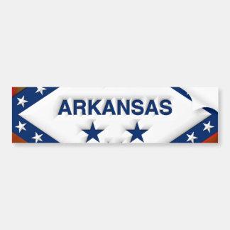 Arkansas Art Car Bumper Sticker