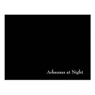Arkansas at Night Postcard