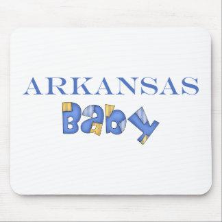 Arkansas Baby (Blue) Mouse Pad