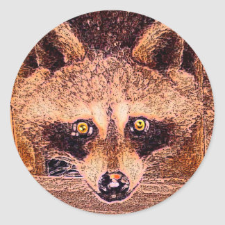 Arkansas Bandit Classic Round Sticker