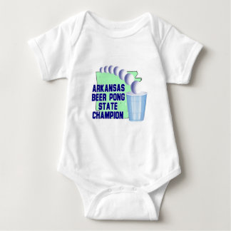 Arkansas Beer Pon Champion Baby Bodysuit