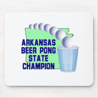 Arkansas Beer Pon Champion Mouse Pad