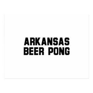Arkansas Beer Pong Postcards