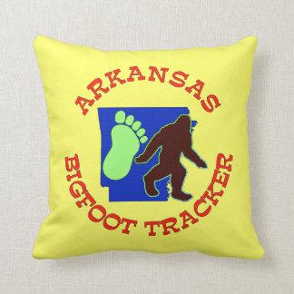 Arkansas Bigfoot Tracker Pillow