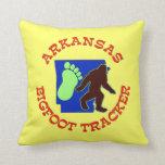 Arkansas Bigfoot Tracker Pillows