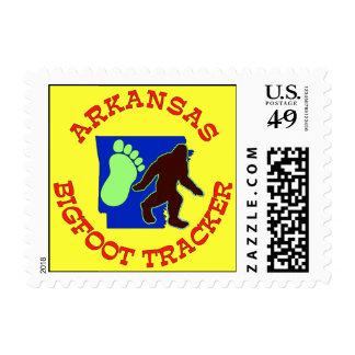 Arkansas Bigfoot Tracker Postage Stamps