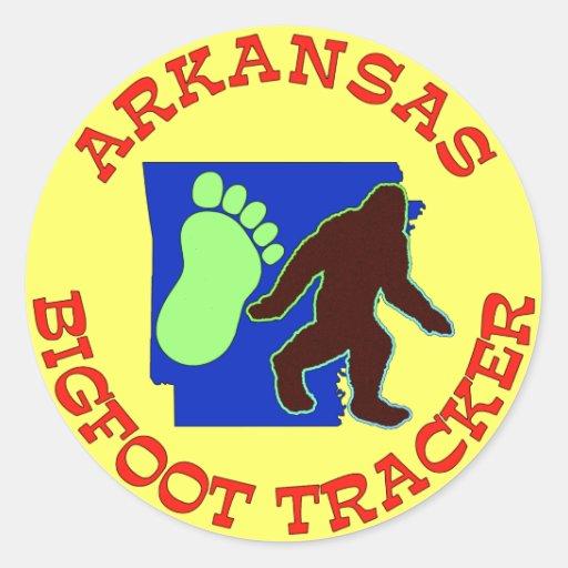 Arkansas Bigfoot Tracker Stickers