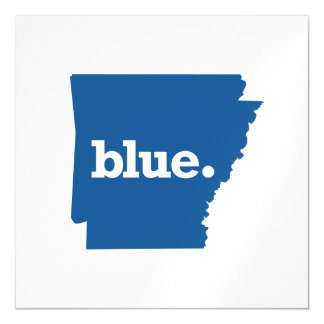 ARKANSAS BLUE STATE MAGNETIC CARD