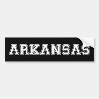 Arkansas Bumper Sticker