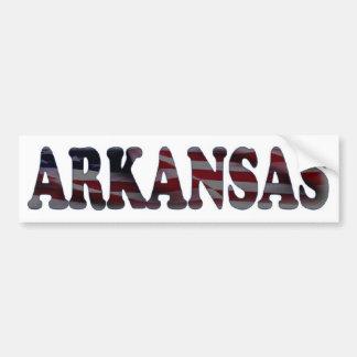 Arkansas Car Bumper Sticker
