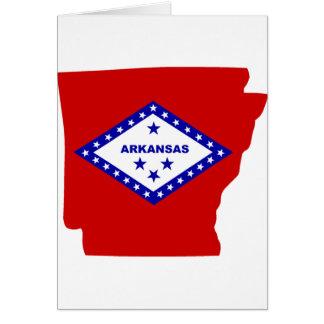 Arkansas. Card