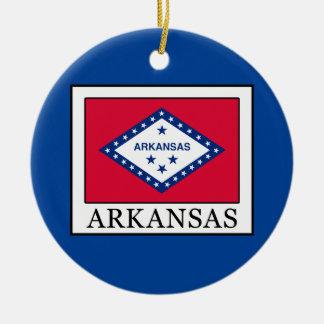 Arkansas Ceramic Ornament