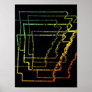 arkansas chill blur poster