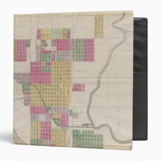 Arkansas City, Cowley County, Kansas 3 Ring Binder