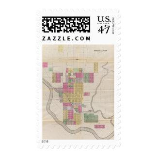 Arkansas City, Cowley County, Kansas Postage