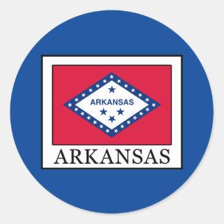 Arkansas Classic Round Sticker