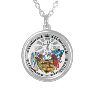 Arkansas Coat of Arms Personalized Necklace