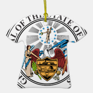 Arkansas Coat of Arms Christmas Ornaments