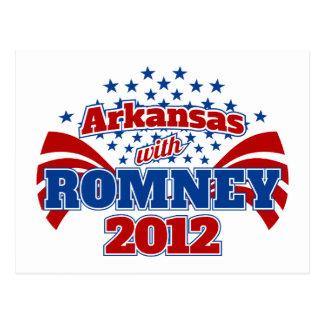 Arkansas con Romney 2012 Postal