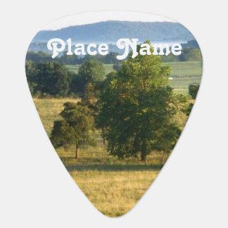 Arkansas Countryside Guitar Pick