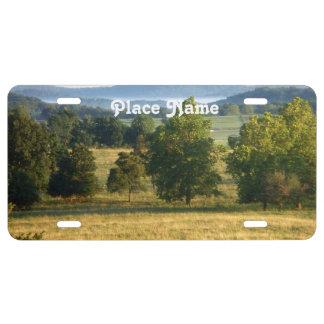 Arkansas Countryside License Plate
