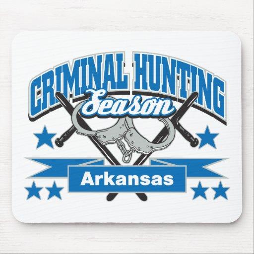 Arkansas Criminal Hunting Season Mouse Pads