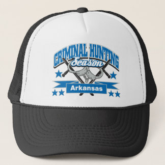 Arkansas Criminal Hunting Season Trucker Hat