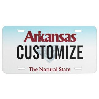 Arkansas Custom License Plate