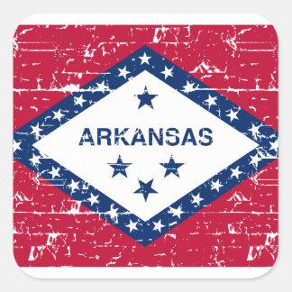 Arkansas Designs Square Sticker