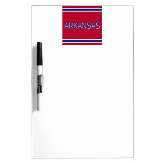 Arkansas Dry Erase Board with Pen