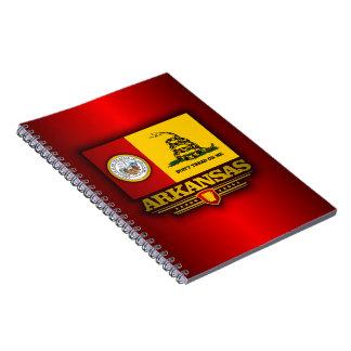 Arkansas (DTOM) Spiral Notebook