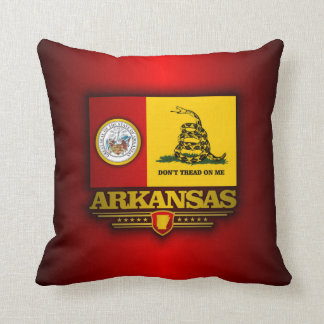 Arkansas (DTOM) Throw Pillow