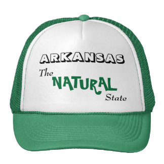 Arkansas - el estado natural gorras de camionero