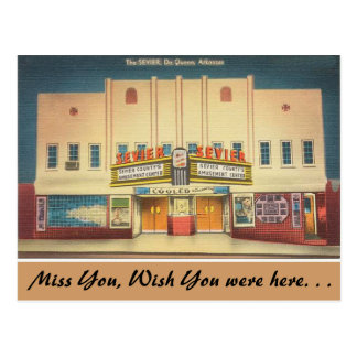 Arkansas, el teatro de Sevier Tarjetas Postales