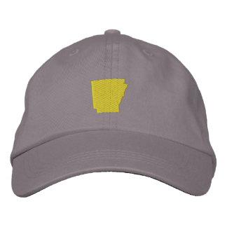 Arkansas Embroidered Baseball Hat