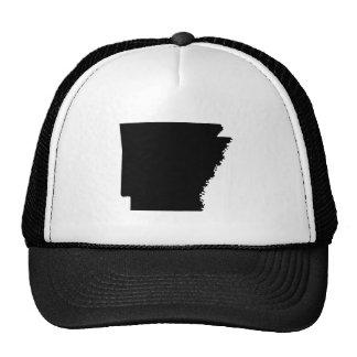 Arkansas en negro gorro