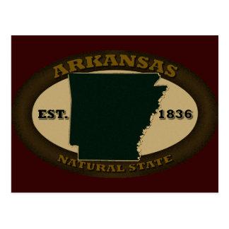 Arkansas Est. 1836 Tarjetas Postales