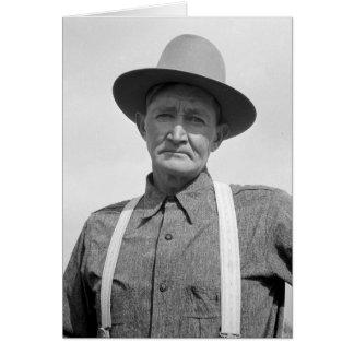 Arkansas Farmer Transplanted to Oregon 1939 Card