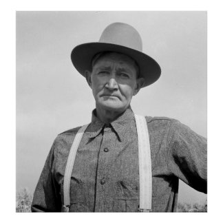 Arkansas Farmer Transplanted to Oregon 1939 Poster