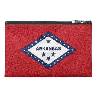 ARKANSAS FLAG TRAVEL ACCESSORIES BAG
