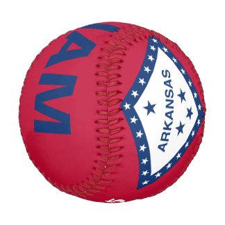 Arkansas Flag Baseball Customizable Name & Year