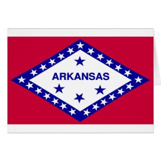 Arkansas Flag Greeting Card
