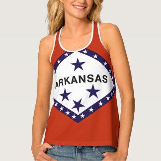 ARKANSAS Flag Design - Tank Top