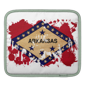 Arkansas Flag iPad Sleeve
