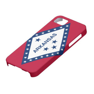 Arkansas Flag iPhone SE/5/5s Case