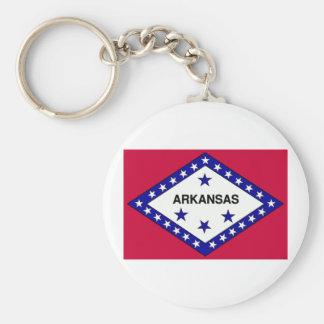 Arkansas Flag Keychain