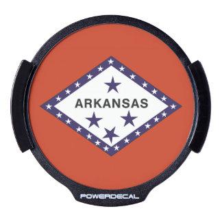 ARKANSAS FLAG LED CAR DECAL