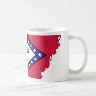 Arkansas Flag Map Mug